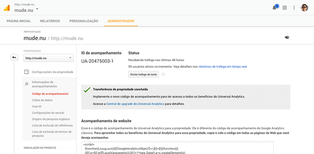 Como instalar o Google Analytics
