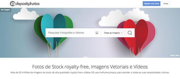 Depositphotos - Site de imagens pago