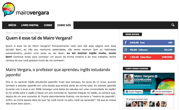 Sobre Mairo Vergara