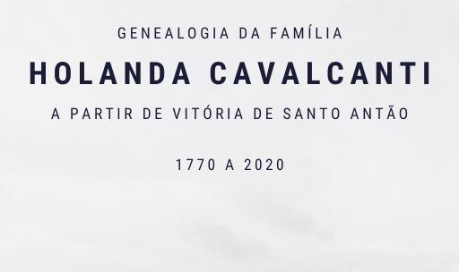 Genealogia da família Holanda Cavalcanti