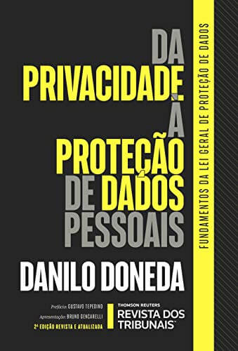 Da Privacidade à Proteção de Dados Pessoais, de Danilo Doneda